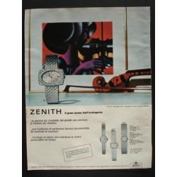 Pubblicità Advertising 1966 Orologi Zenith