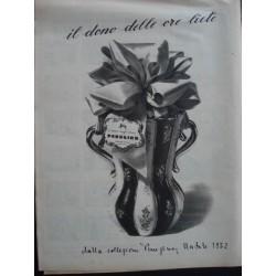 Pubblicità Advertising 1952 alimentari perugina