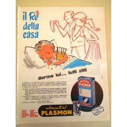 Pubblicità Advertising 1952 alimentari pastina al plasmon