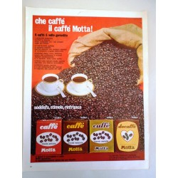 Pubblicità Advertising 1962 alimentari caffè Motta