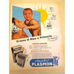 Pubblicità Advertising 1962 alimentari crema di riso e primoris
