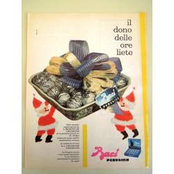 Pubblicità Advertising 1962 alimentari Baci Perugina