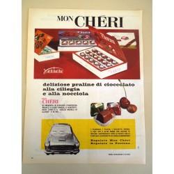 Pubblicità Advertising 1962 alimentari Mon Cheri
