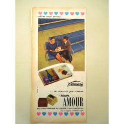 Pubblicità Advertising 1960 alimentari Ferrero