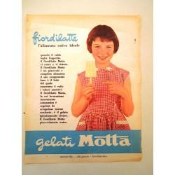Pubblicità Advertising 1963 alimentari gelati motta
