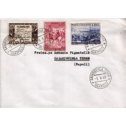 FDC ITALIA 1960 Privato 882/84 Spedizione dei mille annullo Casamiccola Terme