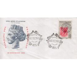 FDC ITALIA 1959 Filagrano Unif. 879 - Giornata della Filatelia A/S Roma