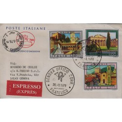 FDC ITALIA 1978 Cavallino Unif. 1403/05 Propaganda Turistica Raccomandata