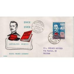 FDC ITALIA 1959 RODIA Unif. 879 - Giornata della Filatelia dittico a/s ROMA