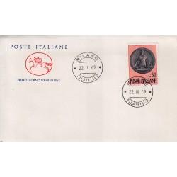 FDC ITALIA 1969 Cavallino Unif. 1108 Ragioneria Generale dello Stato