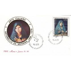 FDC ITALIA 1979 Roma Luxor Unif. 1448 Arte Italiana Annullo Roma
