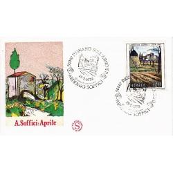 FDC ITALIA 1979 Filagrano Unif. 1449 Arte Italiana Annullo Speciale