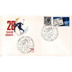 MARCOFILIA ANNULLO SPECIALE A-53 04/04/1970 Chiusa Forte 28° Slalom Gigante Canin Sella Nevea