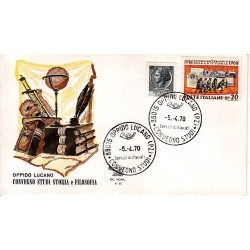 MARCOFILIA ANNULLO SPECIALE A-55 05/04/1970 Oppido Luciano Convegno Studi