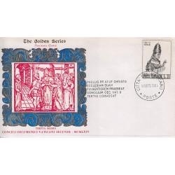 FDC VATICANO The Golden S. 14/09/1964 3° sessione Concilio Ecumenico Vaticano II