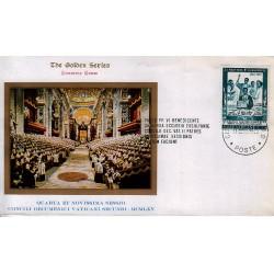 FDC VATICANO The Golden Series 1965 Concilio Vaticano II Apertura della IV° Sessione