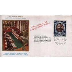 FDC VATICANO The Golden Series 1965 Chiusura del Concilio Ecumenico Vaticano II