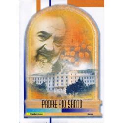 IT Repubblica 2002 Folder - 23/09/2002 Padre Pio Santo - Lamina Oro, valore facciale € 50.00
