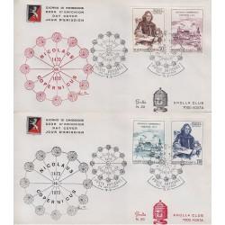 FDC VATICANO 1973 Grolla Unif. 540/43 Nicolò Copernico