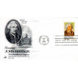 FDC US1941 - A1327 - 05/11/1981 20c John Hanson, First President of Congress