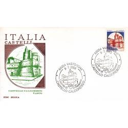 FDC Italia 1983 RODIA 1653 Castelli d'Italia A/S Vasto