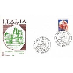 FDC Italia 1983 Capitolium 1653 Castelli d'Italia A/S Vasto