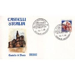 FDC Italia 1983 Roma 1653 Castelli d'Italia A/F Matera