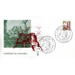 FDC Italia 1983 ALA Unif 1651 Castelli d'Italia A/S Venafro