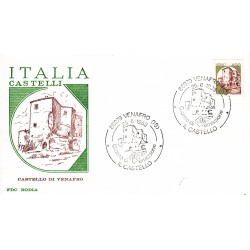 FDC Italia 1983 RODIA 1651 Castelli d'Italia 400 A/S Venafro