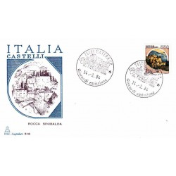 FDC Italia 1984 Capitolium 1674 Castelli d'Italia 550 A/F Matera