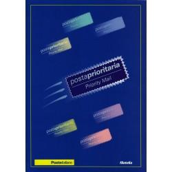 IT Repubblica 2002 Folder 02/01/2002 Posta Prioritaria - nuovo cpl., val. facciale - € 20.00