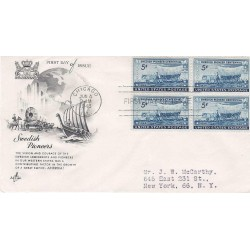 FDC USA 958 - 04/06/1948 5c Swedish pioneers to the Middle West. Chicago, IL