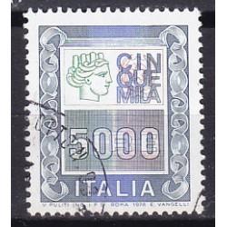Italia 1979 Unif. 1442 Alto Valore 5000 usato
