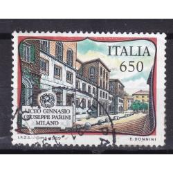 Italia 1989 Unif. 1875 Scuole - Liceo ginnasio Giuseppe Parini usato