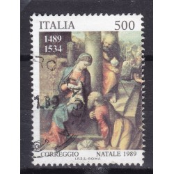 Italia 1989 Unif. 1902 Natale usato