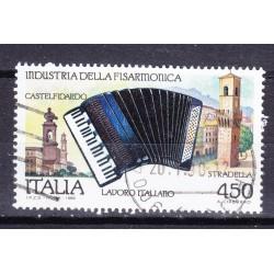 Italia 1989 Unif. 1900 industria della fisarmonica usato