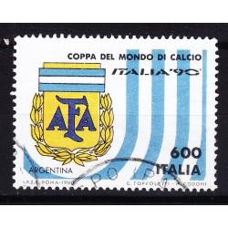 Italia 1990 Unif. 1914 Mondiali di Calcio 90 - Argentina usato
