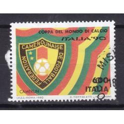 Italia 1990 Unif. 1916 Mondiali di Calcio 90 - Camerun usato