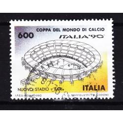Italia 1990 Unif. 1919 Mondiali di Calcio 90 - Nuovo Stadio Bari usato