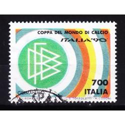Italia 1990 Unif. 1927 Mondiali di Calcio 90 - Germania usato