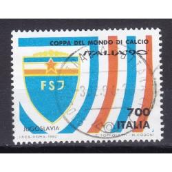 Italia 1990 Unif. 1931 Mondiali di Calcio 90 - Jugoslavia usato