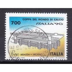 Italia 1990 Unif. 1931 Mondiali di Calcio 90 - Stadio Meazza Milano usato
