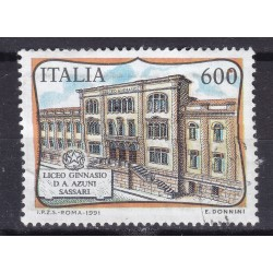 Italia 1991 Unif. 1986 Liceo Ginnasio D.A. Azuni Sassari usato