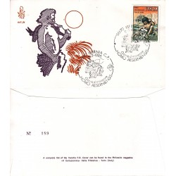 FDC Italia Venetia 1988 Unif. 836 Homo Aesernieinesis