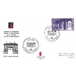 FDC ITALIA 1989 Grolla Club Unif. 1885 Scuole Università di Pisa A/S APG