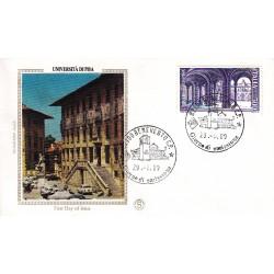 FDC ITALIA 1989 Filagrano Gold Unif. 1885 Scuole Università di Pisa A/F Benevento