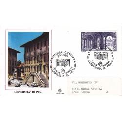 FDC ITALIA 1989 Filagrano Unif. 1885 Scuole Università di Pisa A/S