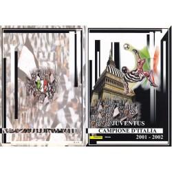 Folder Italia 2002 - Juventus Campione d'Italia 2001-2002  val. fac. € 11.00
