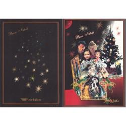 Folder Italia 1999 - Natale 1999  val. fac. € 10.33