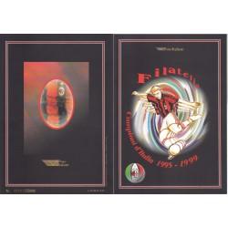 Folder Italia 1999 - Milan Campione D'Italia  val. fac. € 10.33